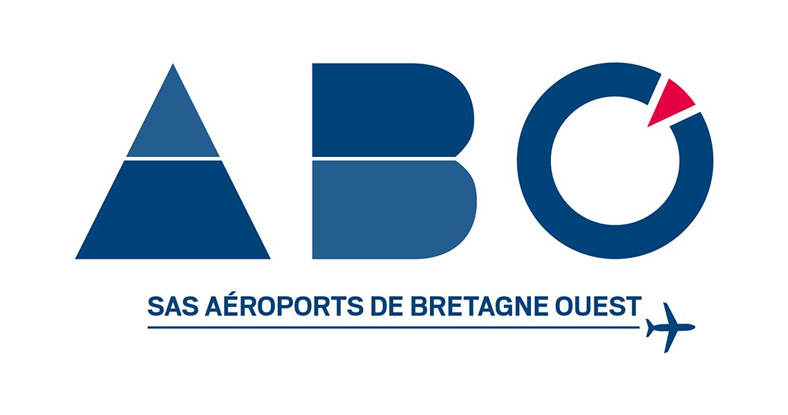 Logo Aéroports Bretagne Ouest