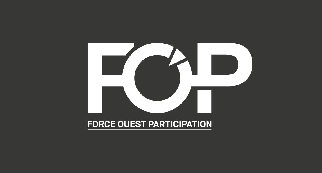 Logo FOP en blanc