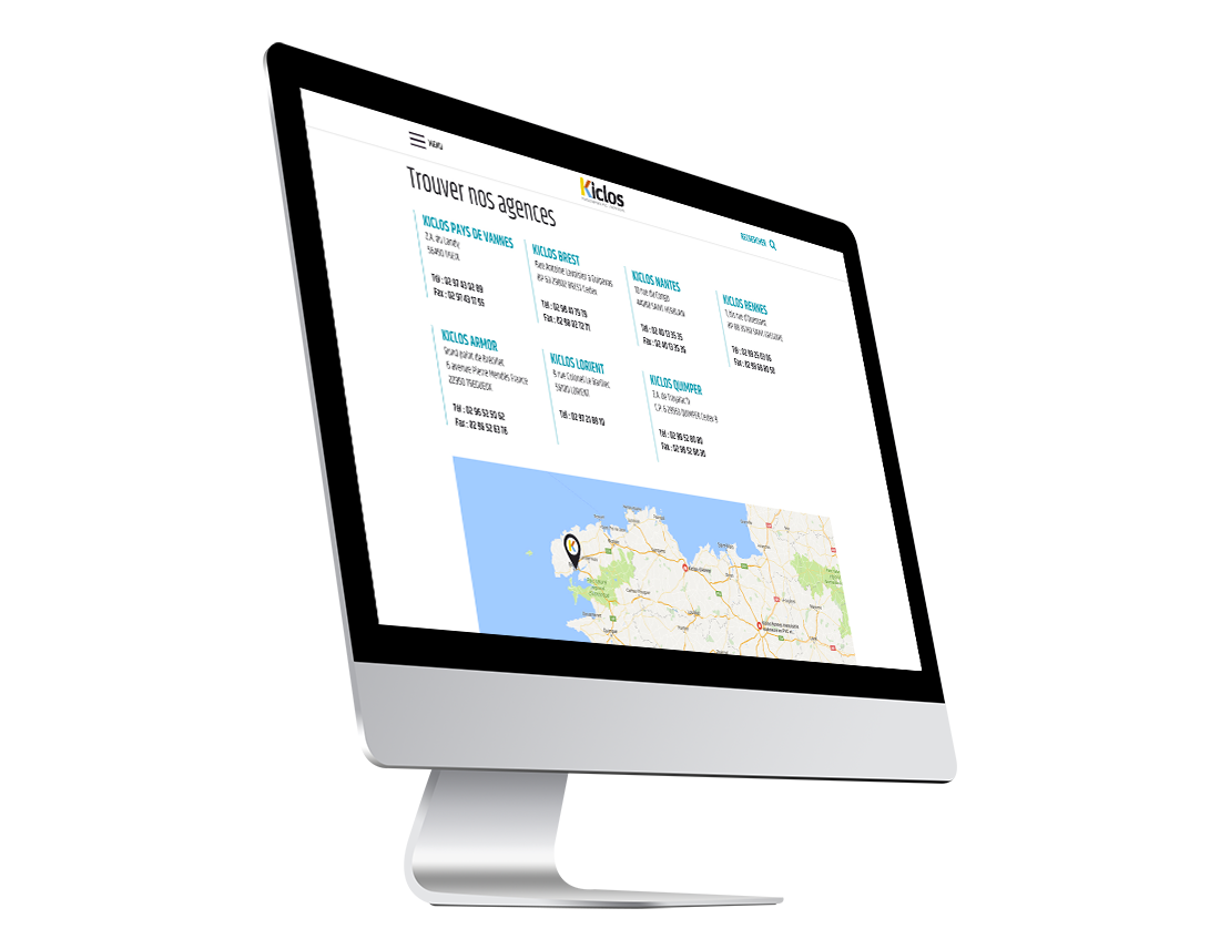creation site web brest